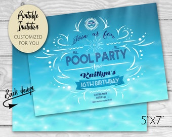 Sweet 16 Pool Party