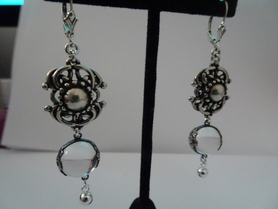 Sterling Silver Rare Wild Rose Pools of Light Pier