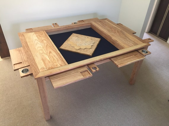 The Board Game Vault Table Plans Etsy