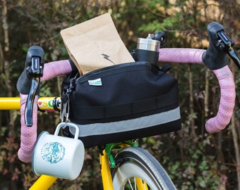Bar Crawler, handlebar cycling bag