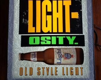 Vintage neon sign   Etsy