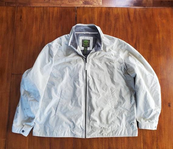 Vintage Timberland Men's Jacket Tan/Beige Jacket S