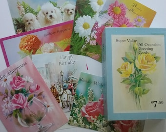 Boxed greeting cards etsy vintage boxed cards all occasion greeting cards set of 24 mixed cards embassy greetings cards birthday cards wedding cards gift cards m4hsunfo