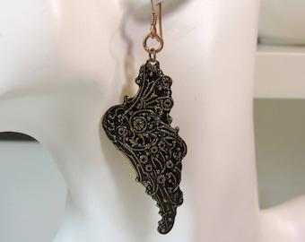 Enchanted Butterfly Wing Earrings