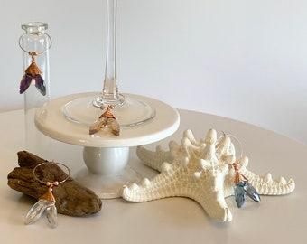 Mermaid Tail Wine Charms (Set of 4)
