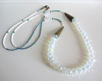 Long Opalescent Necklace