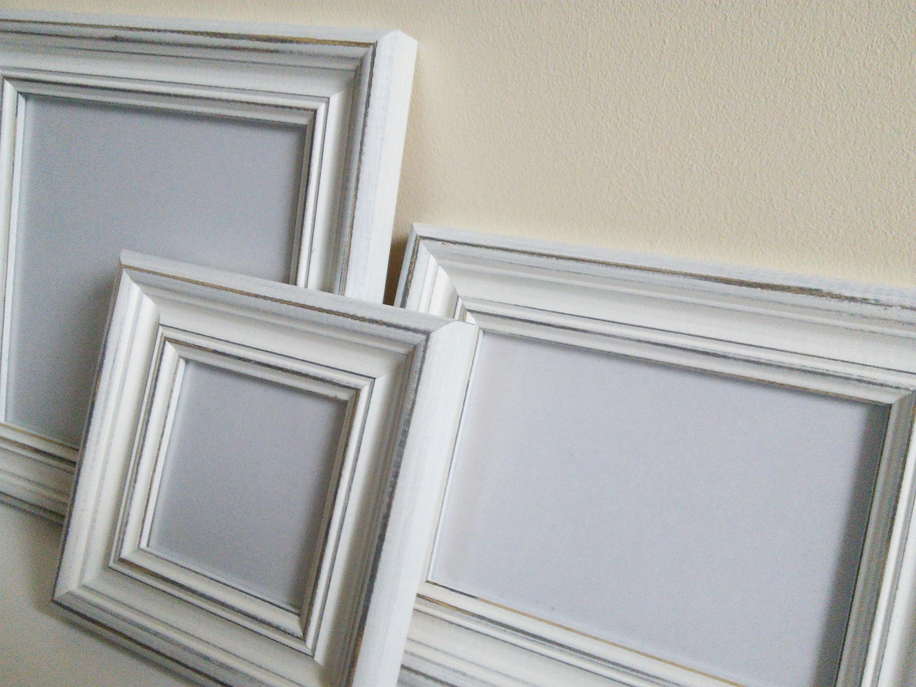 Beunruhigt weißen Rahmen Bild Rahmen Foto Rahmen A3 Plakat