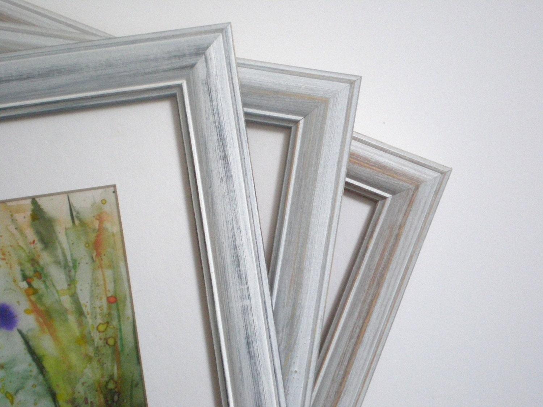 Weißer Rahmen Bild Rahmen rustikal Foto Frame A4 weiß