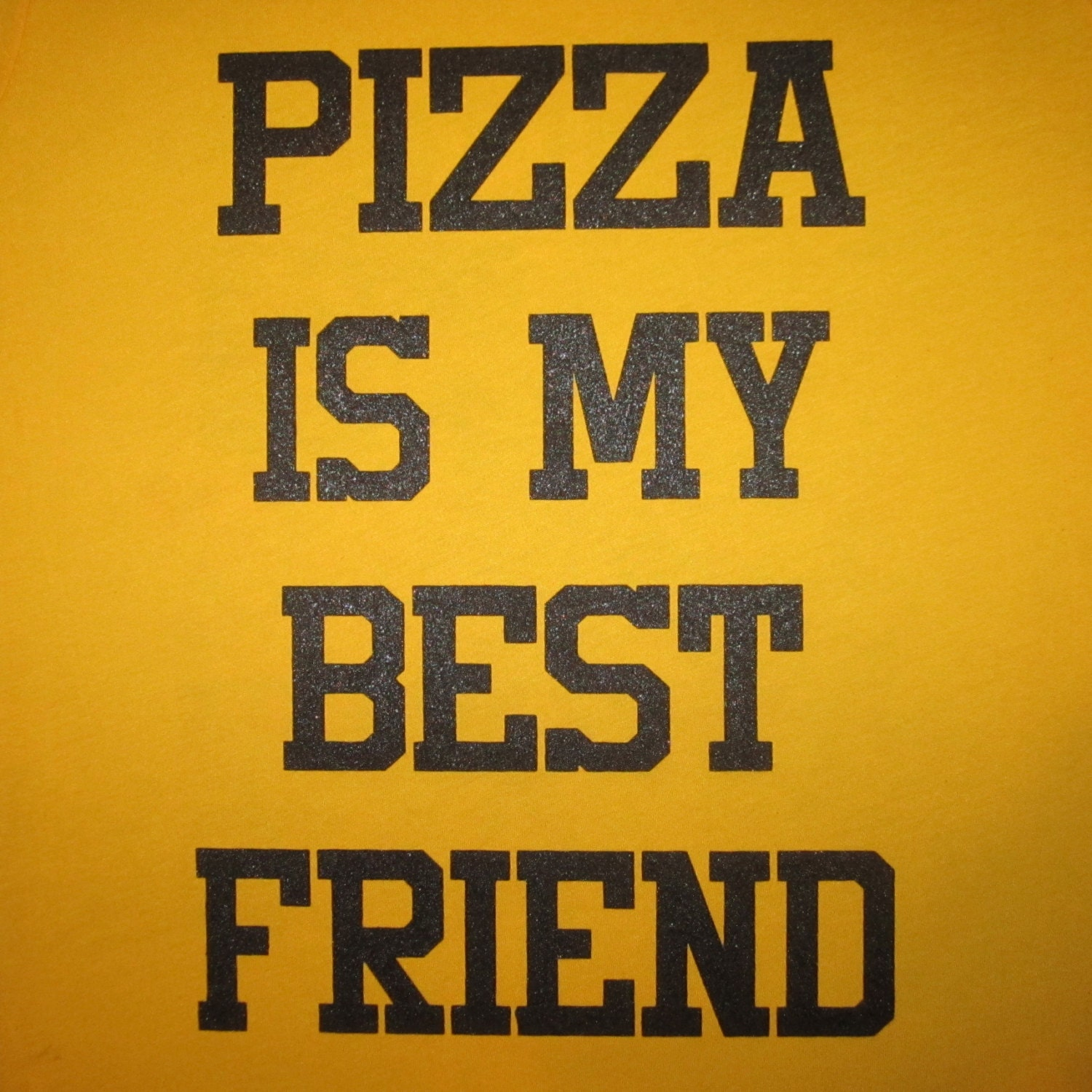 611259af Mens pizza is my best friend t shirt funny bff food porn | Etsy