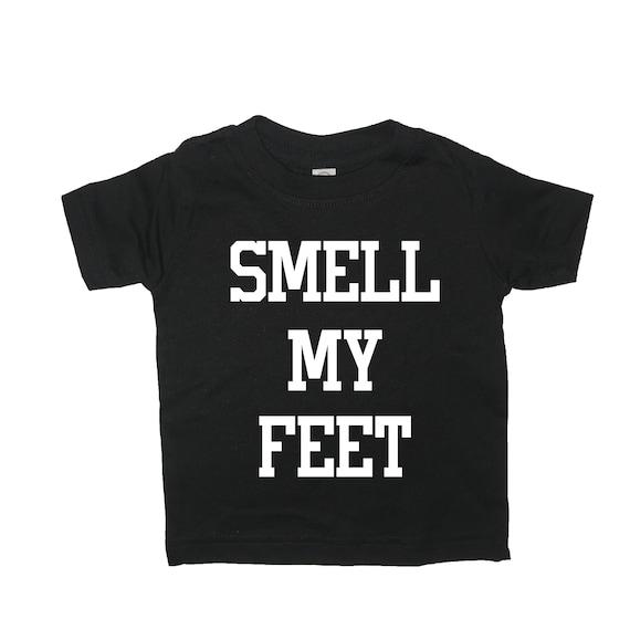 Boys Heather Gray Trick Or Treat Smell My Feet Halloween T-Shirt