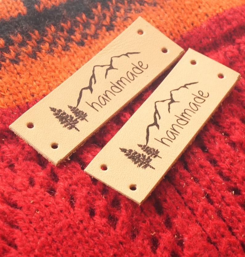 Custom Clothing Labels Leather Labels Crochet Labels Etsy