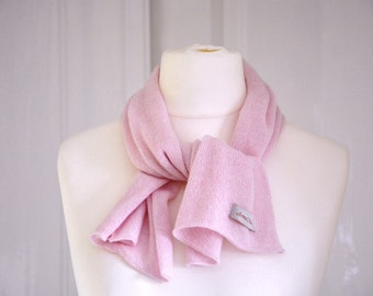 """Short scarf """"Kate"""", 100 % Cashmere"""