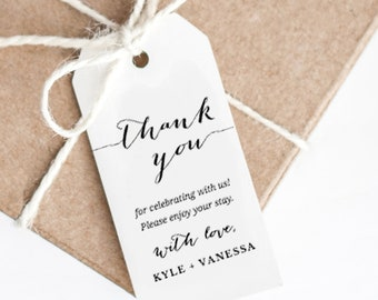 wedding gift tags etsy