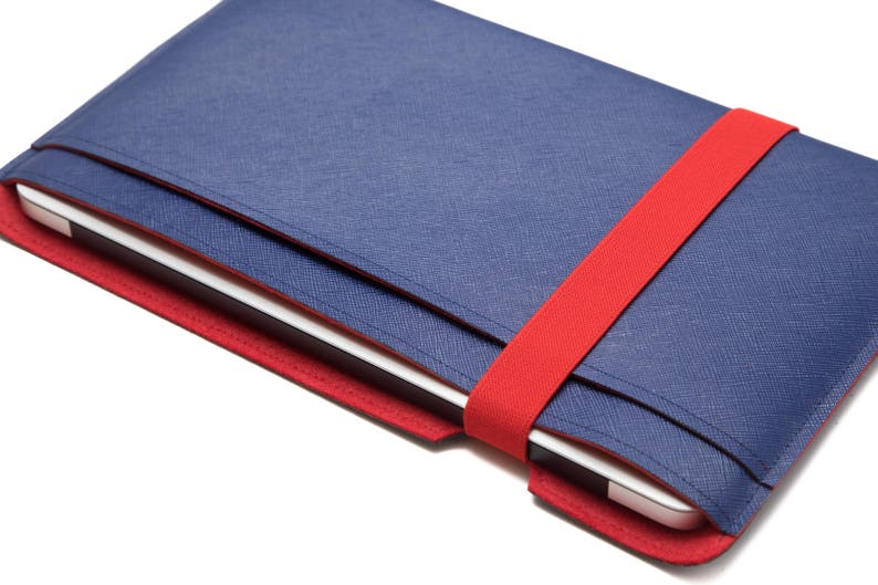 Blue & Red Laptop Cover, 11