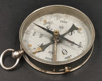 French Military Compass, Pocket Compass, Perfect Gift