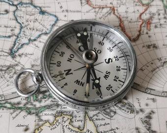 Pocket Compass, Vintage Compass, German Stockert Compass