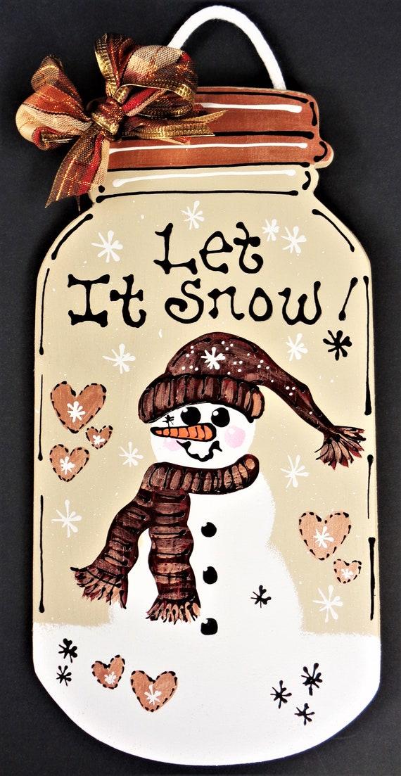 Let It Snow Jar