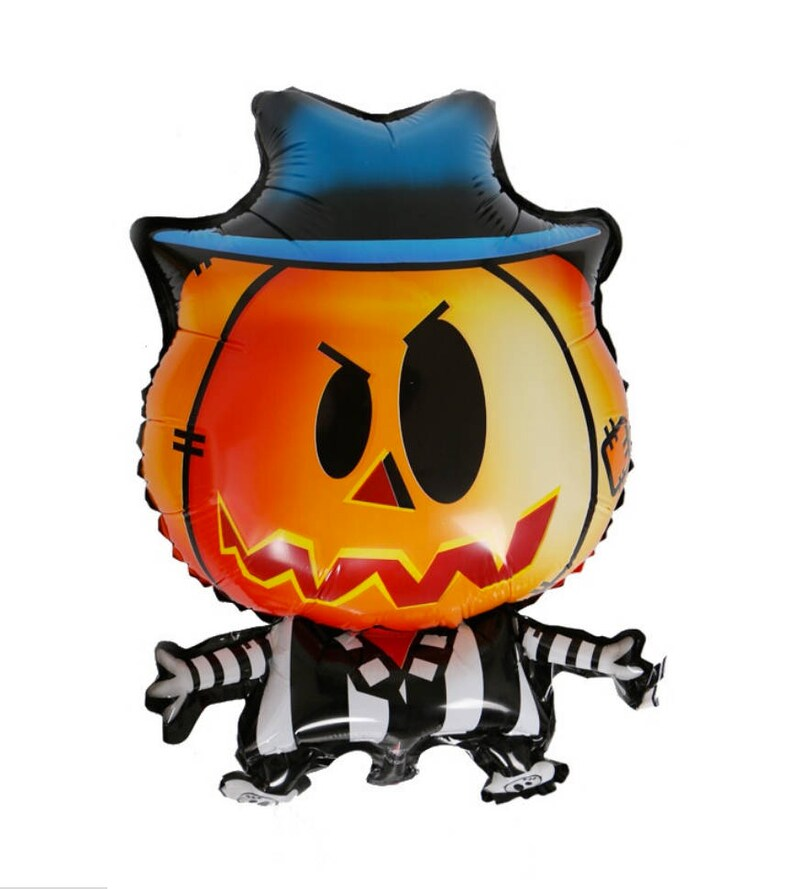 Jack-o-lantern Man Balloon 24 Pumpkin Man Balloon image 0