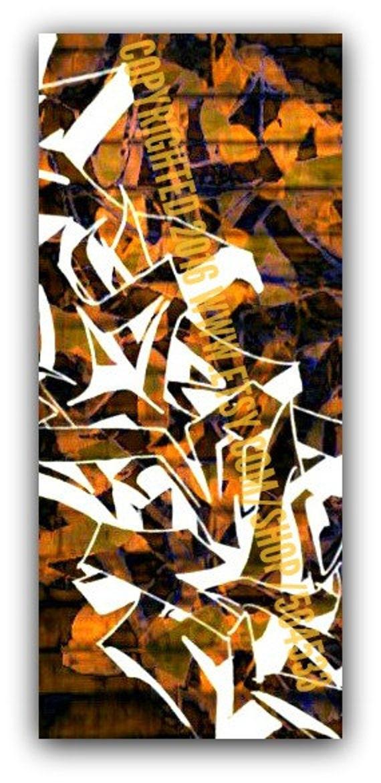 Abstract Graffiti Canvas