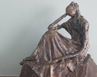 Elvina-contemporary figurative sculpture.