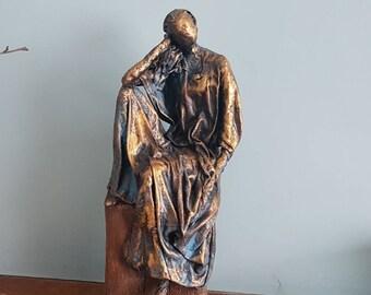 Lottie - Contemporary fabric, figurative sculpture