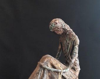 Contemporary Figurative Sculpture - Nadia
