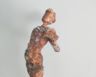 Willow- Contemporary cold cast bronze sculpture.