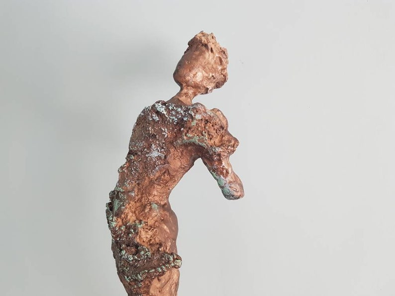 Willow Contemporary cold cast bronze sculpture. image 0