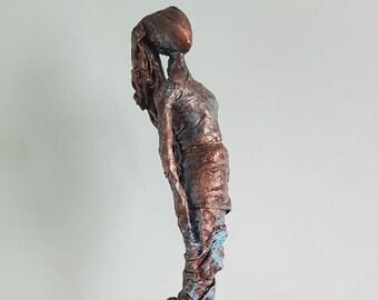 Tiffany - Fabric resin sculpture