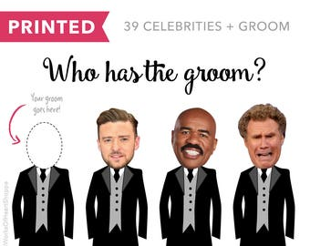 40 QTY – Who has the groom? – Printed