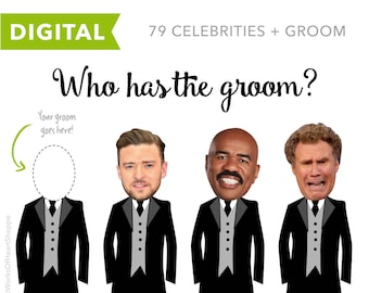 80 QTY – Who has the groom? – Digital