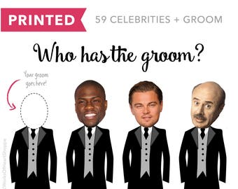 60 QTY – Who has the groom? – Printed