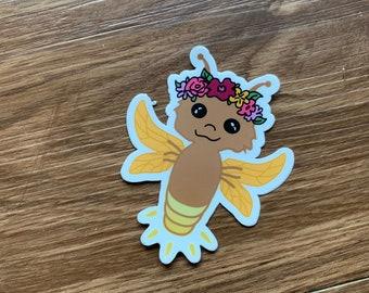 Lightning Bug Fairy Sticker