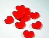 HEART Shapes (10 pcs.) La...