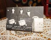 RPPC Goldman Band Phil Grant, Frank Kutak, August Gus Helmecke Gretsch Drums Music Instruments