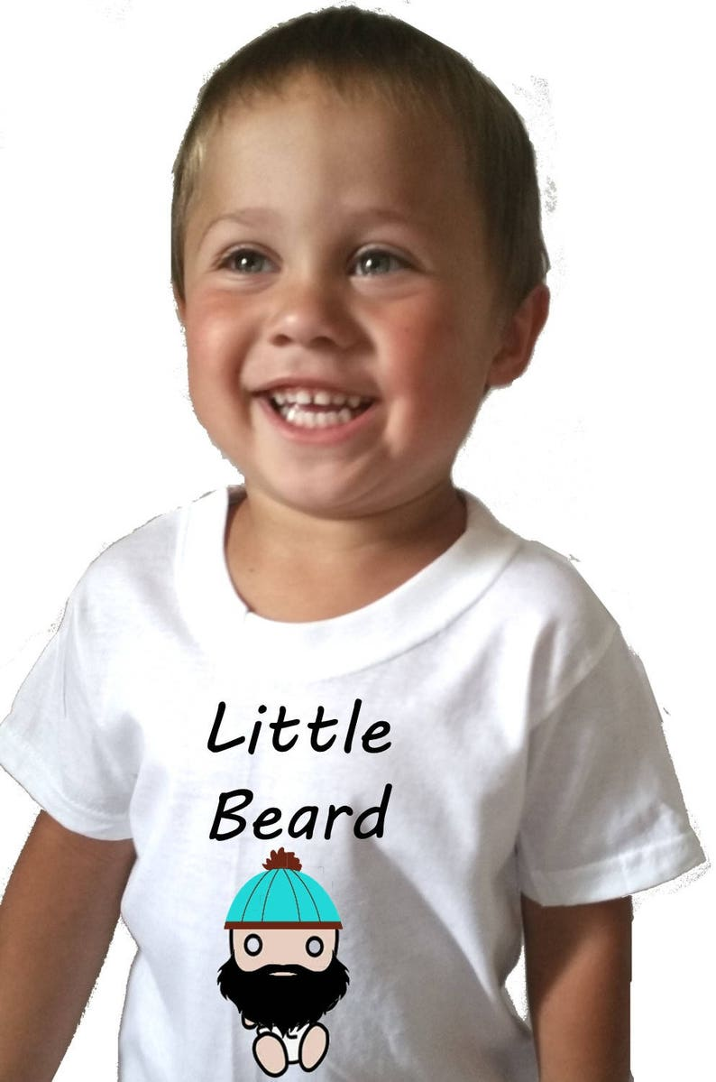 06a693a9a8 Toddler graphic tees Beard baby Baby shower gift boy Beard | Etsy