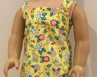 Flower American Girl Doll Sundress