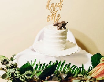 Custom Wood Cake Topper for Special Event.