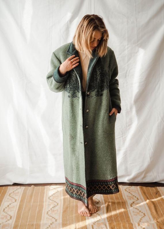 vintage Wooden River coat