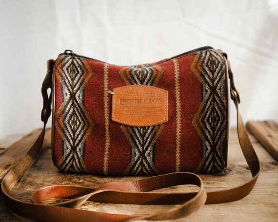 Vintage Crossbody Pendleton Purse