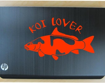 Koi lover decal