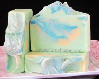 Sweetgrass Silk Soap