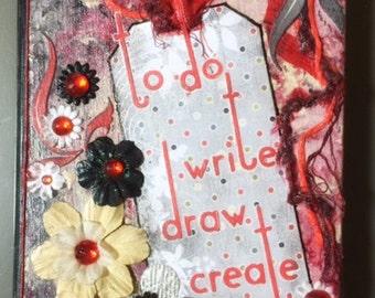 Write, Draw, Create Journal / Blank Book