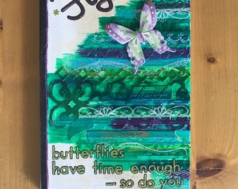 Fly - Hardcover Blank Book / Journal - Great Gift for Writers