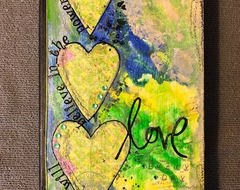 The Power of Love - Blank Book / Journal - Great Gift for Writers