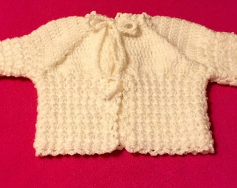 Gorgeous Handmade Baby Sweater
