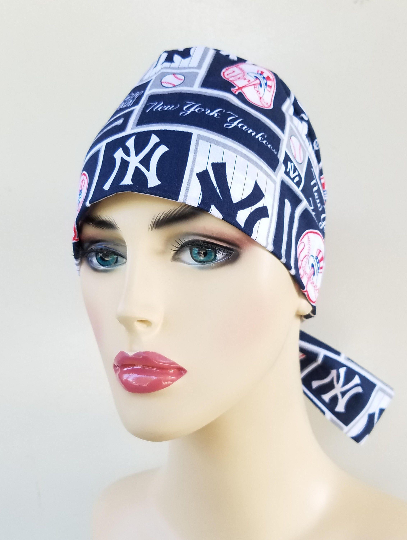 Womans pixie tie back scrub hat 855c96b60f4