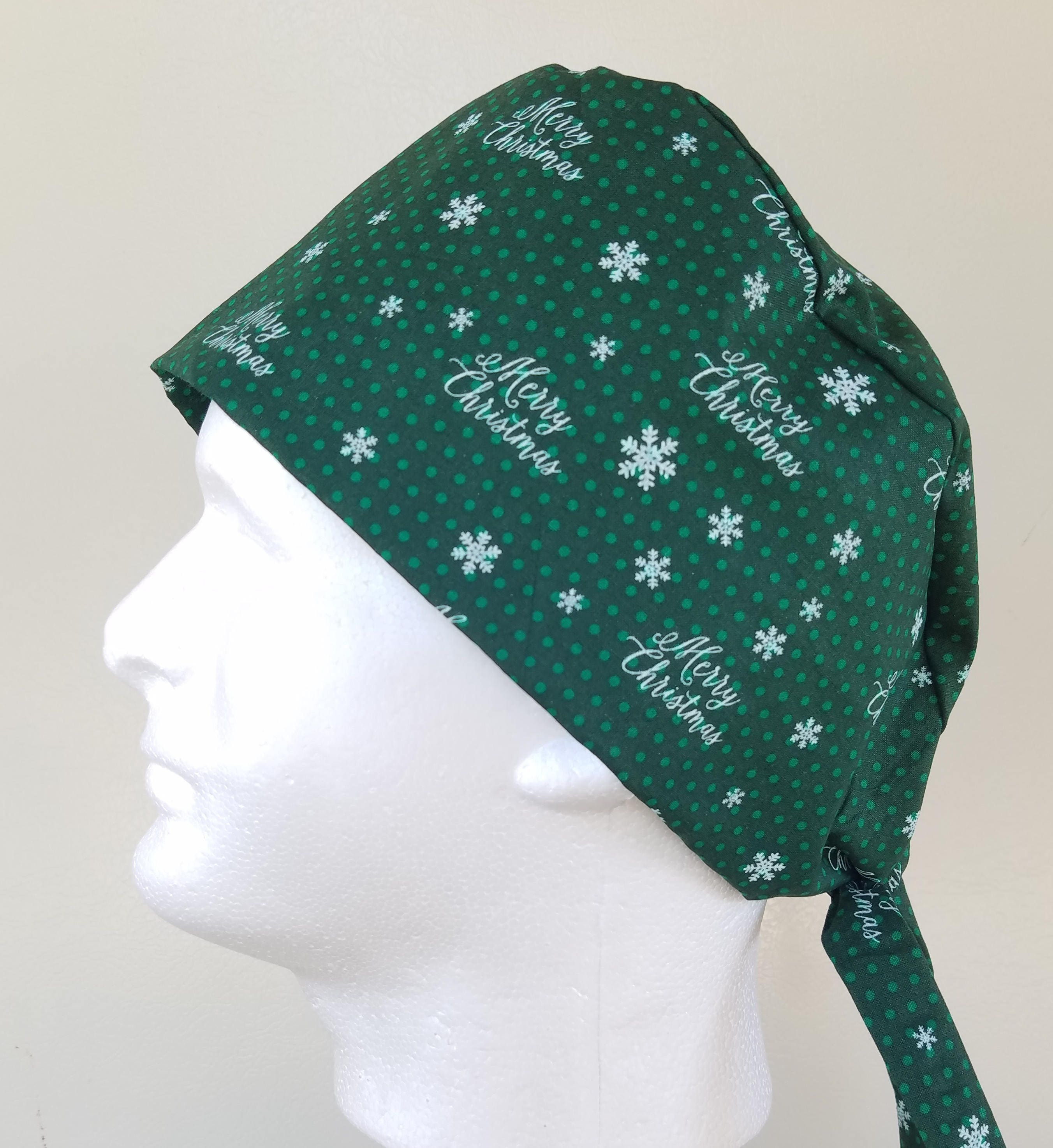 28a758cafe139 ... green print surgical scrub cap. gallery photo ...