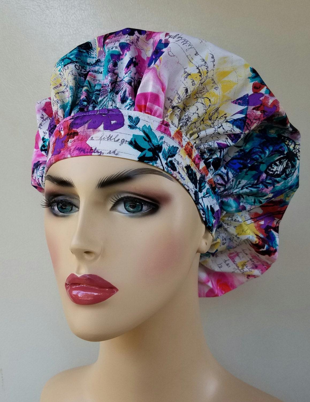 10f32757a1d Bouffant surgical scrub hat
