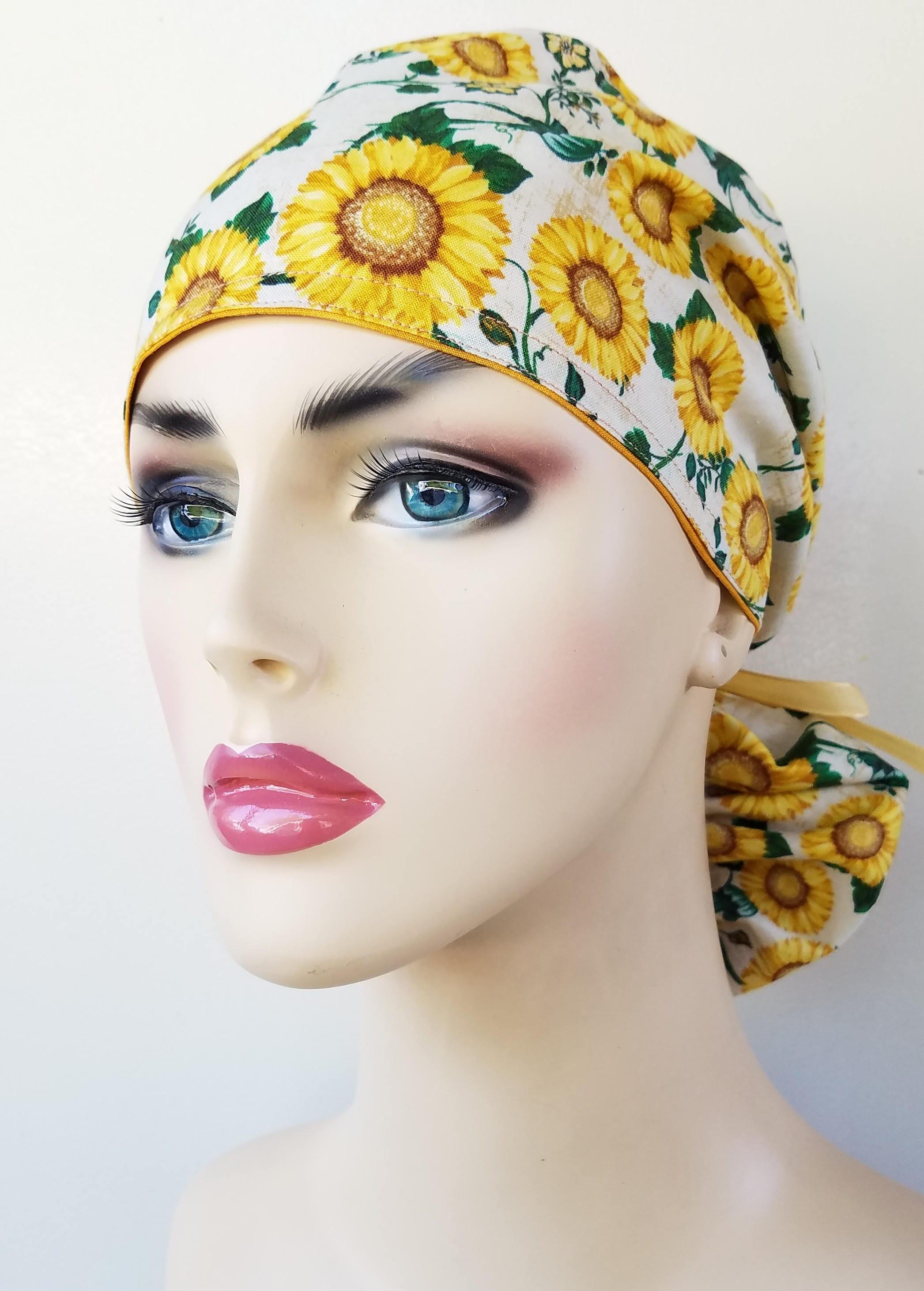 Daisy Scrub Hat